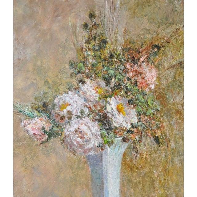 Troy Ruddick Vintage Floral Still Life Painting, C.1965 - Image 6 of 7