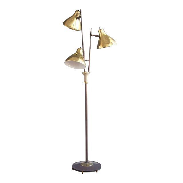 "Gerald Thurston for Lightolier ""Triennale"" Style Floor Lamp For Sale"