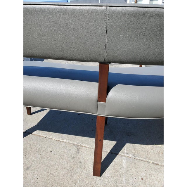 New Custom Made Constantini Curved Bruno Bench For Sale - Image 10 of 11