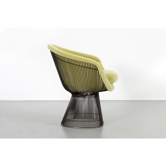1960s Set of Mid-Century Modern Bronze Platner Lounge Chairs for Knoll For Sale - Image 5 of 13