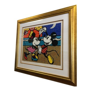 Romero Britto Mickey Mouses Est Love Print For Sale