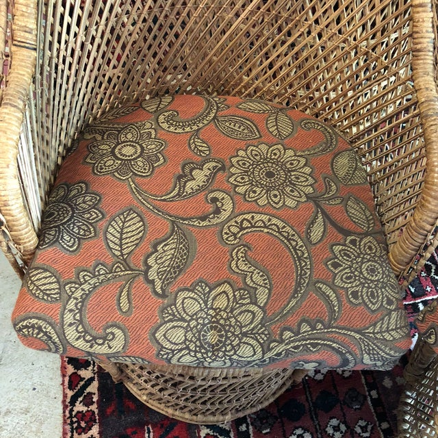 Bohemian Peacock Chair and Table Collection For Sale - Image 12 of 13