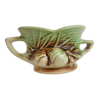 McCoy Pinecones Sugar Bowl