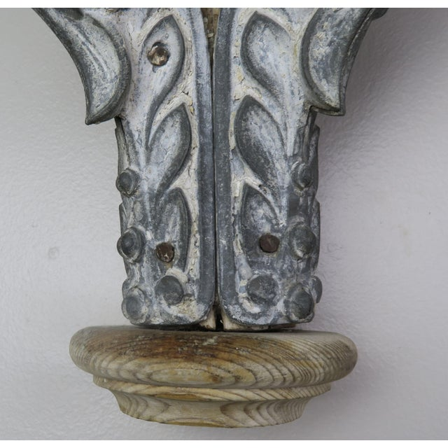 Pair of French Painted Corbels, Circa 1940s For Sale - Image 4 of 13