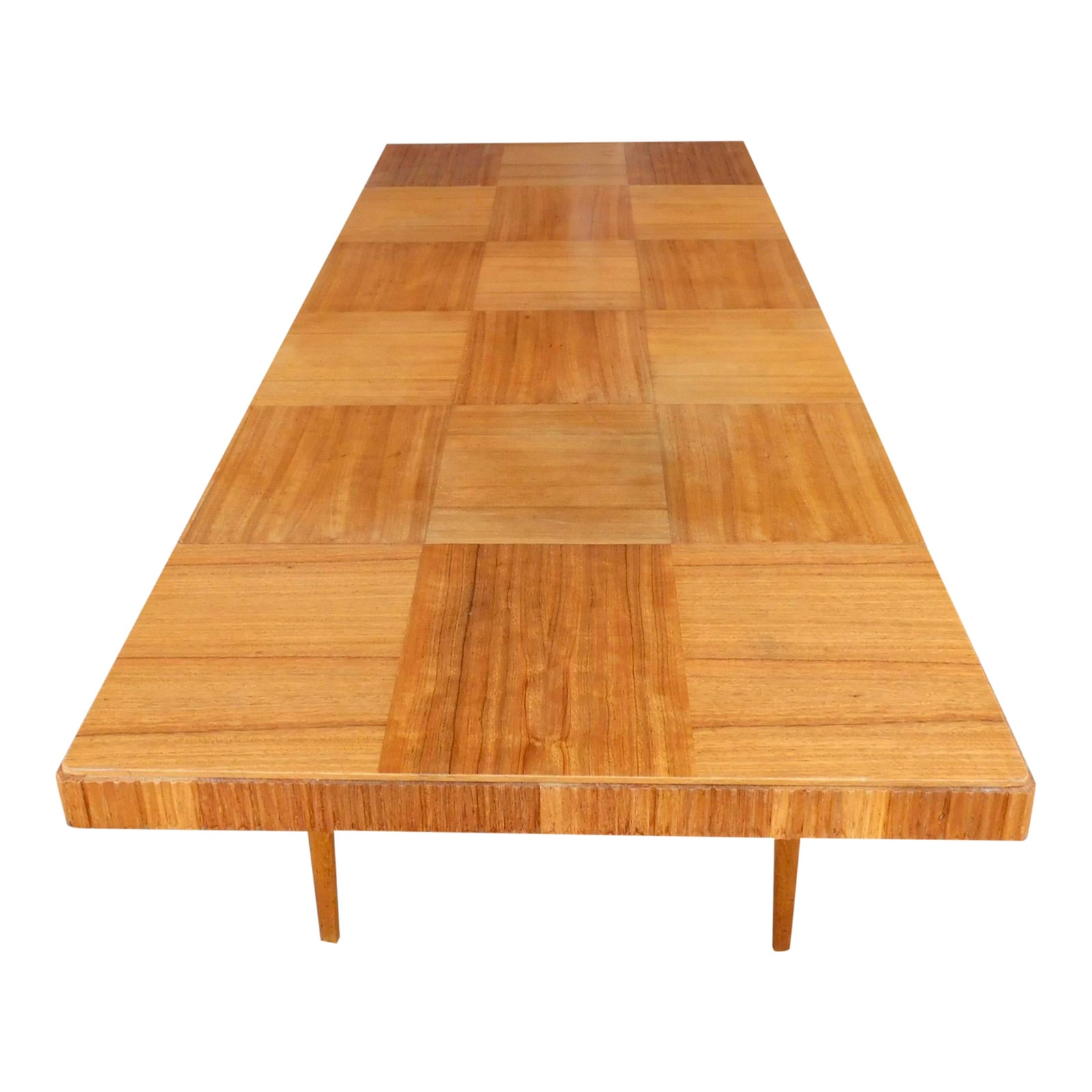 Swedish Mid Century Modern Extendable Dining Table Chairish