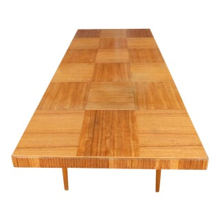 Swedish Mid-Century Modern Extendable Dining Table For Sale