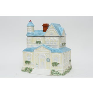 Large Ceramic House Canister Cookie Jar Preview
