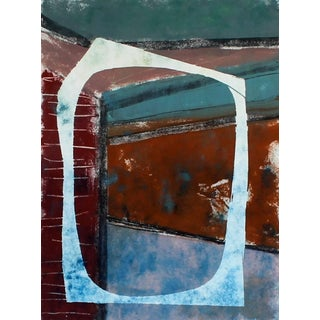 """Rob Delamater """"In Through the Out Door Ii"""", Abstract Monotype Print, 2014 2014 For Sale"""