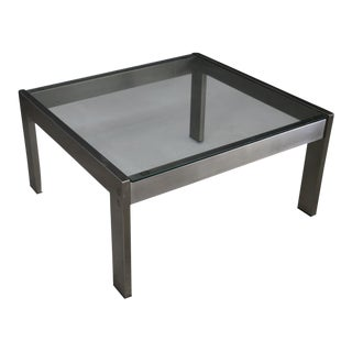 Gae Aulenti Coffee Table for the Renaissance 1970 For Sale