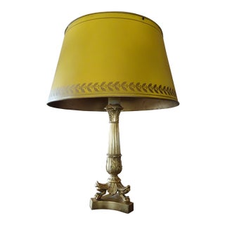Pair of 19th Century French Bouillotte Lamps For Sale