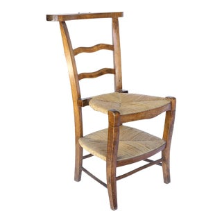 Antique French Prie Dieu, Prayer Chair 2 For Sale