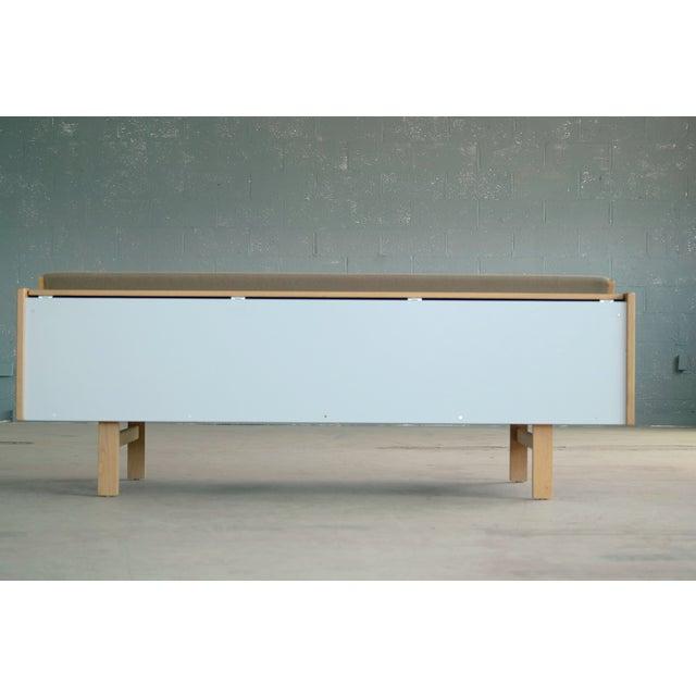 Hans Wegner for GETAMA Model 258 Oak Sofa or Daybed For Sale - Image 11 of 11