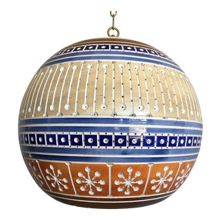 Art Pottery Pendant Light