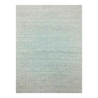 Turquoise / Green Woven Fabric - 4 Yards For Sale