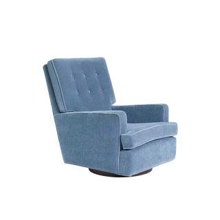 Milo Baughman High Back Swivel Chair, 1970 For Sale