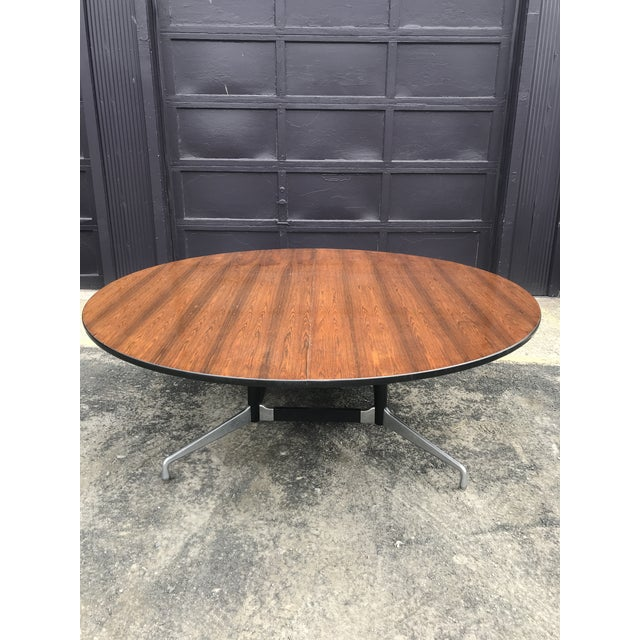 """78""""d Eames Herman Miller Rosewood Conference Table For Sale In New York - Image 6 of 12"""