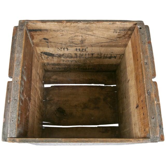 Vintage Wood Egg Storage Box For Sale - Image 4 of 4