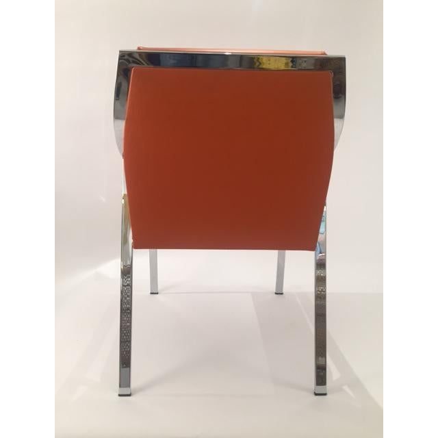 Holly Hunt Aileron Dining Arm Chair - Image 8 of 9