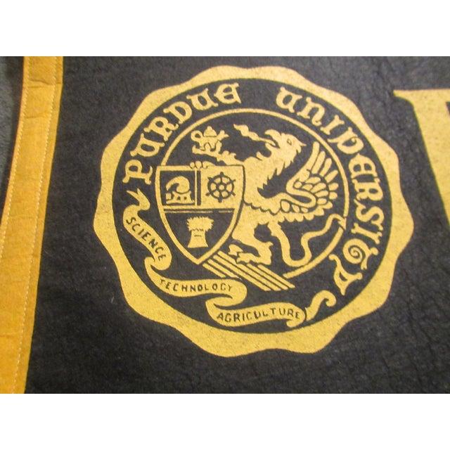 Vintage Purdue University Pennant - Image 5 of 9