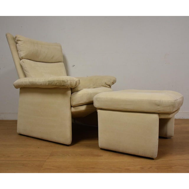 Rolf Benz for Cy Mann Recliner & Ottoman - Image 2 of 11