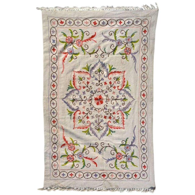 Antique Vintage Blanket Wall Tapestry For Sale