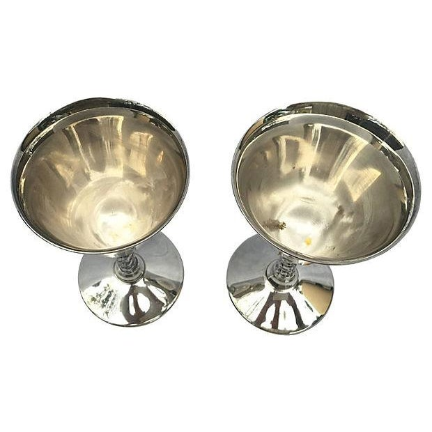 Yugoslavian Silver Plate Goblets - Image 3 of 4