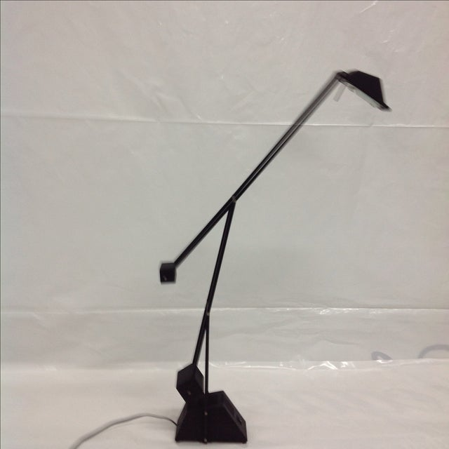 Black Modernist Kinetic Balance Lamp - Image 6 of 7