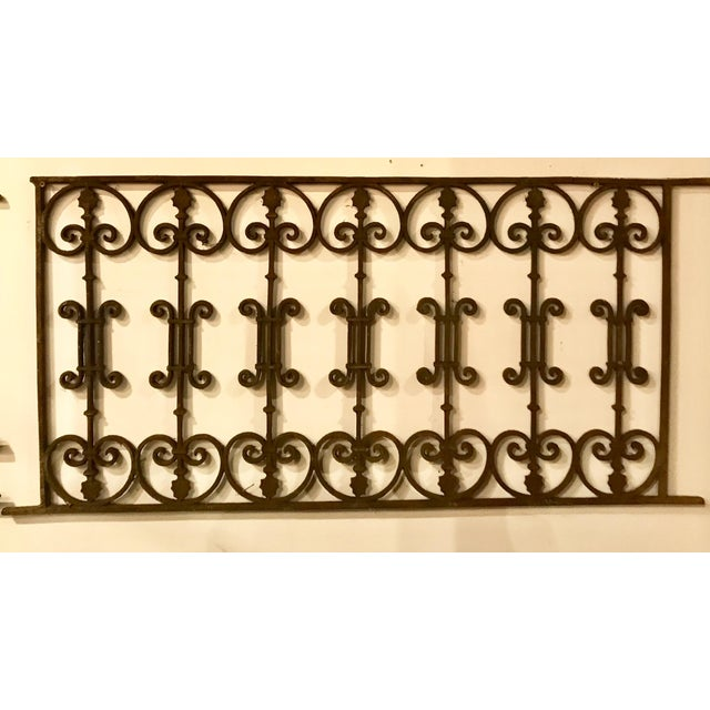 Black Late 19th Century French Antique Gate For Sale - Image 8 of 8