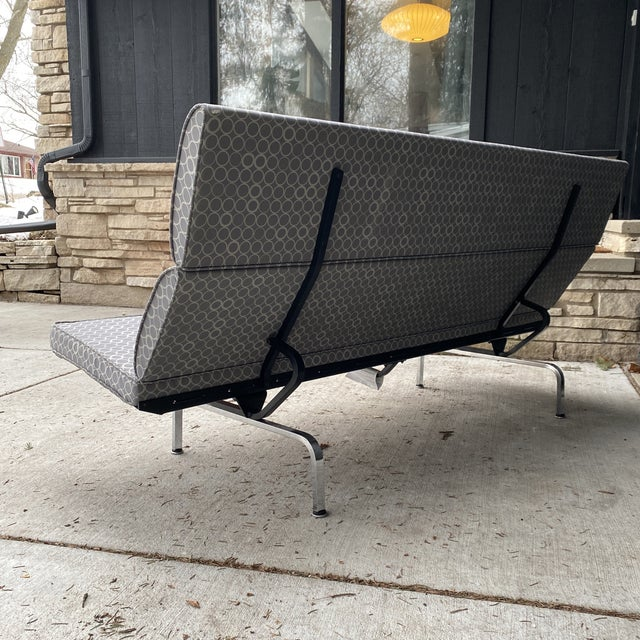 Eames Compact Sofa For Sale In Milwaukee - Image 6 of 11