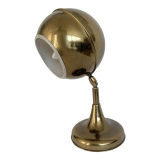 1960s Italian Brass Desk Lamp For Sale