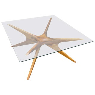 Argentinian Coffee Table in Petiribi Wood For Sale