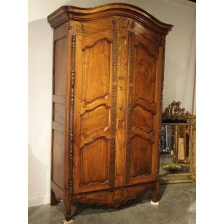 Antique Walnut Wood Armoire, Fourques Circa 1820 Preview