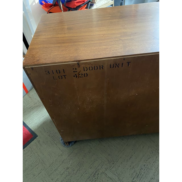 Wood 1960s Vintage American of Martinsville Cabinet For Sale - Image 7 of 11