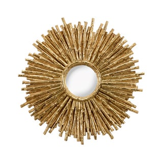 Wildwood Lamps Twiggy Gold Mirror