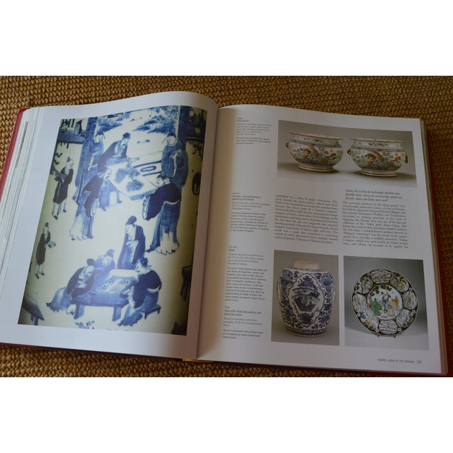 """Red """"The Art of East Asia"""" Hardcover Dust Jacket Book Koenemann Coffee Table Book Red Black For Sale - Image 8 of 11"""