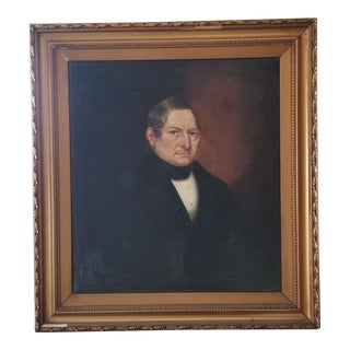 Erly 19th Century Oil Portrait Painting