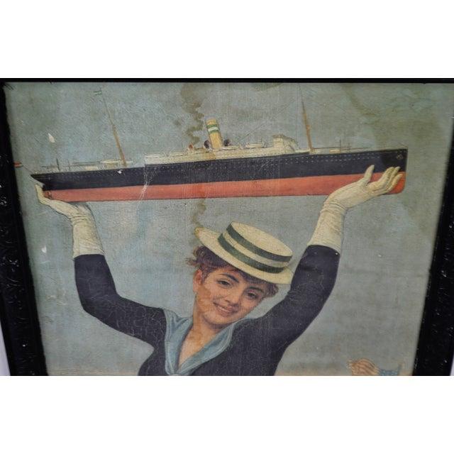 Victorian Jan Van Beers Framed Print For Sale - Image 4 of 11