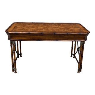 Hooker Seven Seas Chippendale Campaign Writing Desk For Sale