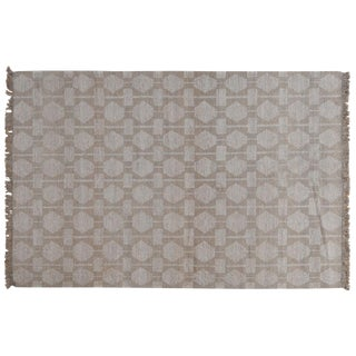 Stark Studio Rugs Contemporary Flat Woven Rug - 5' X 8' For Sale