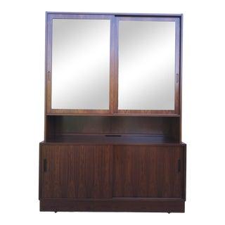 Danish Modern Carlo Jenson for Hundevad Rosewood Display Cabinet / Bookcase For Sale