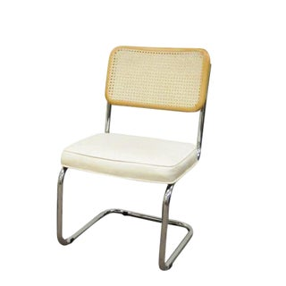 Italian Cesca Breuer Cane Marcel Style Kitchen Dining Chair For Sale