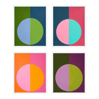 "Medium ""Forevers 1, Set of 4"" Print by Stephanie Henderson, 32"" X 40"" For Sale"