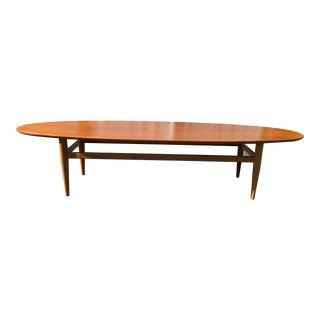 Mid-Century Heritage Surfboard Coffee Table For Sale