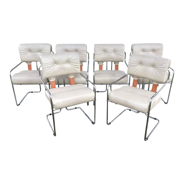 """Tucroma"" Mariana for Pace Dining Chairs - Set of 6 For Sale"
