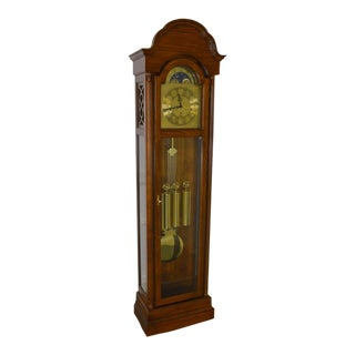 Ridgeway Tall Case Cherry Oak Grandfather Clock