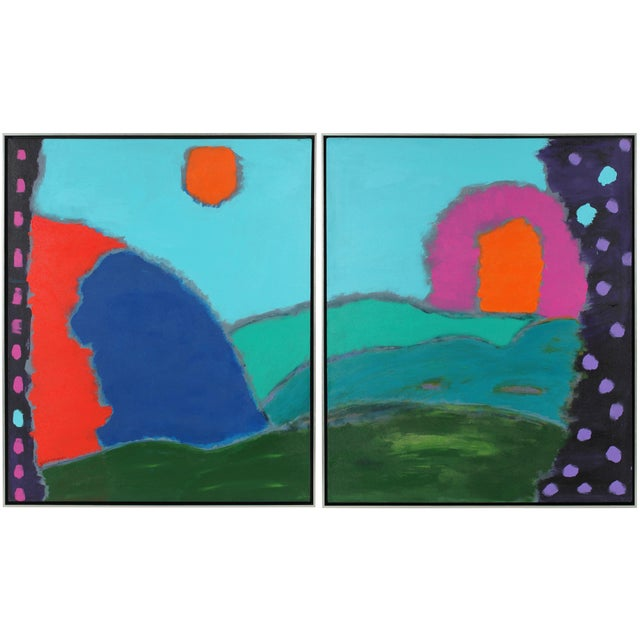 """""""Magical Kingdom"""" Diptych - Image 1 of 5"""