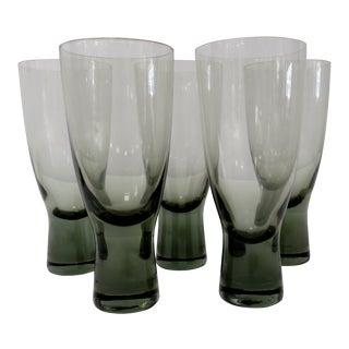 Holmegaard Smoke Glasses - Set of 5 For Sale
