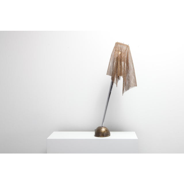 """Artemide Chain Mail Table Lamp """"Anchise"""" by Toni Cordero For Sale - Image 6 of 10"""