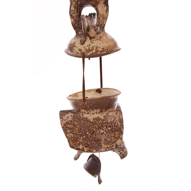 Hanging ceramic sculpture by Jim Proctor, circa early 1960s. Proctor was an art professor in the Palm Springs California...