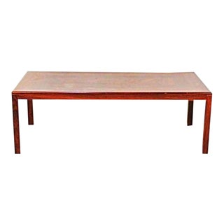 Danish Modern Rosewood Coffee Table For Sale